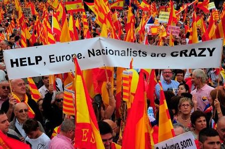 Cataluña, los funámbulos sobre la cuerda floja