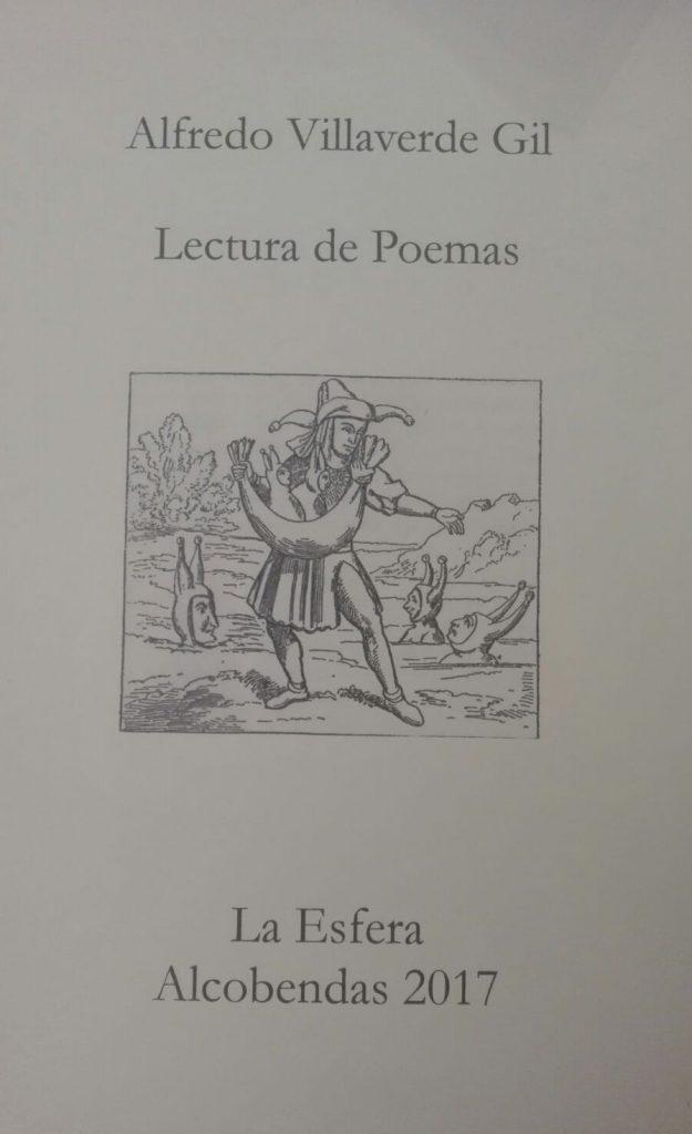 Lectura de poemas en el Centro Cultural La Esfera de Alcobendas